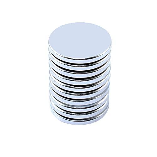 20 x3mm Neodym Scheiben Magnete, 10 Stück Neodym Disc Magnete,Permanente Seltenerd Magnete (20 x3mm-10pcs)