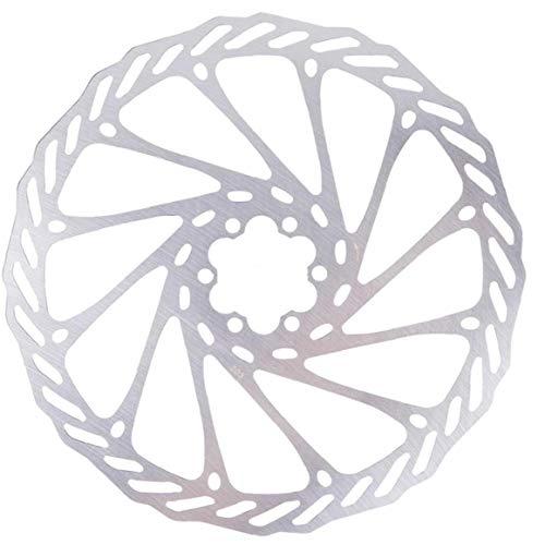 Hiinice 203 Mm De Bicicletas Bicicleta del Freno De Disco De Freno De Disco Center Lock Rotores Rotores De Acero Inoxidable con 6 Pernos De Carretera Bicicleta De Montaña MTB BMX Esencial para Montar