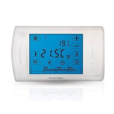 Foto di C804 Cronotermostato Elettronico Touch Screen A Batterie Fantini Cosmi