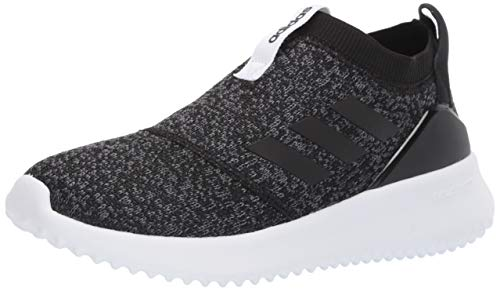 adidas Women's Ultimafusion Running Shoe, Black/Black/Grey, 8 M US