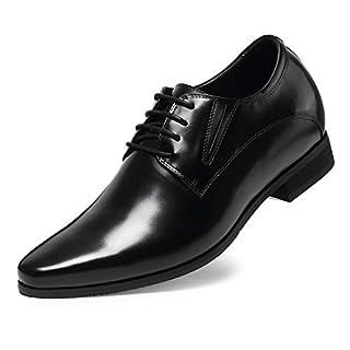 CHAMARIPA Oxford Business-Schuhe, Schwarz