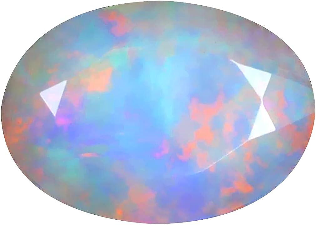 1.92 ct OVAL Max 47% OFF 11 X 8 mm ETHIOPIAN unisex O DEGREE 360 FLASHING RAINBOW
