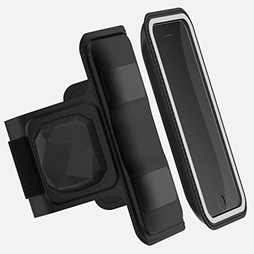 Shapeheart Cardio - Brazalete deportivo magnético universal con sensor de frecuencia cardiaca (iPhone X 8 7 6 , Samsung Galaxy 9 8 7 6 , Huawei, Honor, HTC, LG, Sony,... )