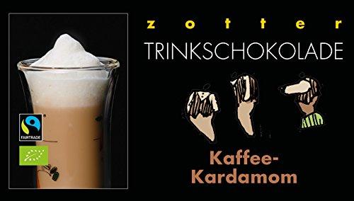 Zotter Trinkschokolade Kaffee-Kardamon 5 x 22 g