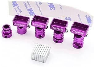 X Spede ACC29M07 Purple Stealth Magnetic Aluminum Body Mounts