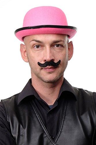 Dress Me Up - Karneval Fasching Halloween falscher Bart geschwungener Schnurrbart Oberlippenbart schwarz Magier Zauberer Zirkusdirektor MM-55