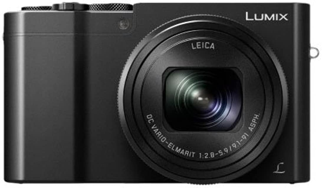 Panasonic Lumix DMC-TZ100EG-K - Cámara Compacta Premium de 21.1 MP (Sensor de 1 Objetivo F2.8-F5.9 de 25-250mm Zoom de 10X 4K WiFi Bluetooth Raw) Color Negro