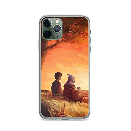 Leaves from The Vine [Zuko and Iroh] Pure Clear Cajas del Teléfono iPhone Samsung Xiaomi Redmi Note 10 Pro/Note 9/Poco M3 Pro/Note 8/Poco X3 Pro Funda Cover