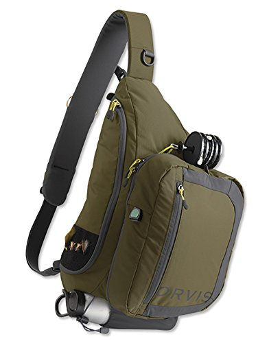 Orvis Safe Passage Guide Sling Pack, Olive Gray
