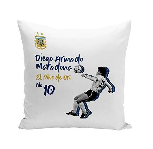 Coussin 40x40 cm Diego Maradona Argentine Vintage Footballeur Foot Star