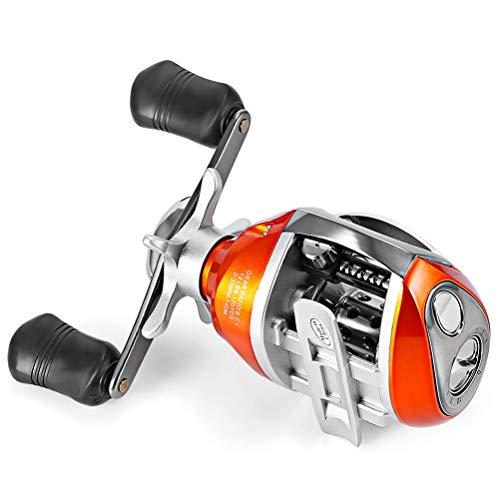 EisEyen Spinning Reel 12Bb y 1 Izquierda/Derecha Carrete de Lanzamiento de cebos 6.2: 1 Carrete de Pesca con Freno magnético, Carrete de Rueda