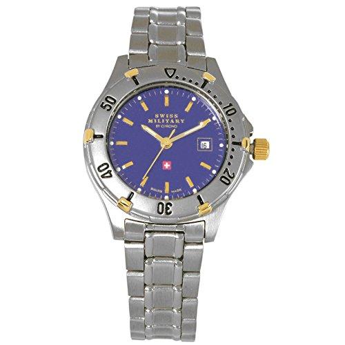 Reloj de pulsera suizo para hombre estilo militar