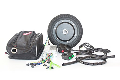 36V 350W Kit de conversión de Scooter eléctrico 8 pulgadas Kit de motor Huv sin escobillas para Kick Scooter DIY Velocidad de Trikke eléctrico puede ser 30KM / H (36V350W)