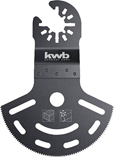 kwb AKKU-TOP CV Tiefschnitt Tauchsägeblatt - Multitool Säge-Blatt, Ø 87 mm, für alle handelsüblichen Maschinen