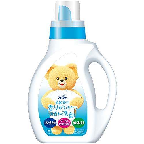 ファーファ 液体洗剤 香りひきたつ無香料 本体1.0kg