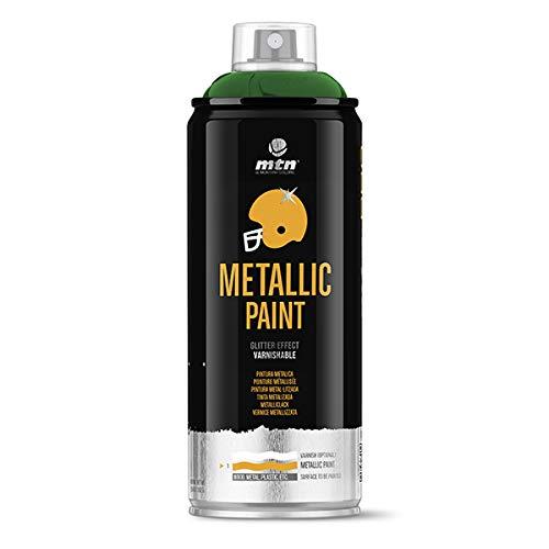 Montana Colors MTN PRO Metalizado Verde R-6025, Spray, Verde, 400 ml