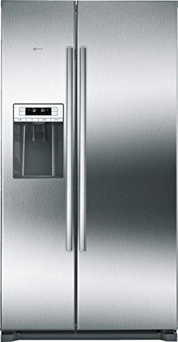 Neff KSA788A1 Side-by-Side Kühl-Gefrierkombination / 177 cm / A+ / Kühlteil: 370 Liter / Gefrierteil: 163 Liter / Flachscharnier