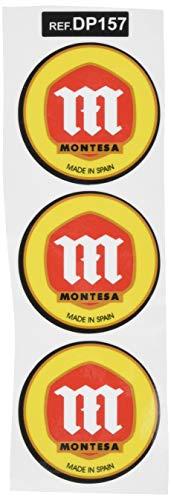 Ecoshirt 9K-MBFZ-CSA1 Pegatinas Stickers Montesa Ref: DP157 Aufkleber Autocollants Adesivi Moto Decals, Negro, 5 cm