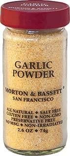 Morton & Bassett Garlic Powder 2.6 ounce