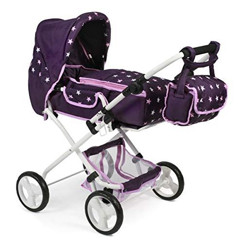Bayer Chic 2000 586T71 Kombi-Puppenwagen Bambina, lila