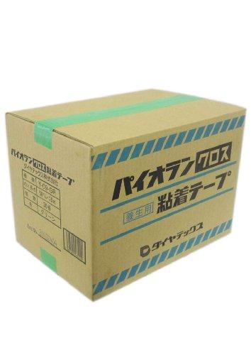 ダイヤテックス パイオランクロス 養生用テープ 緑 50mm×25m 30巻入り Y-09-GR [マスキングテープ]