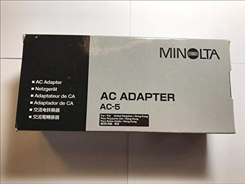 Minolta AC-5 - Adaptador de Corriente alterna (4,7 V, 2 A, 4...