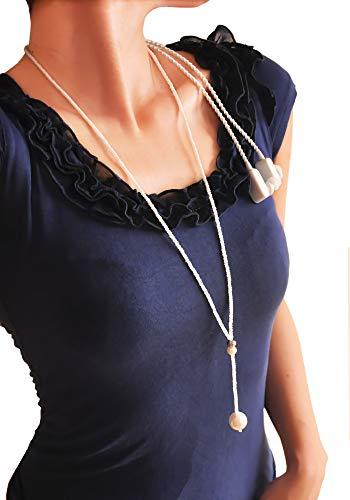 Bluetooth 4.0auriculares inalámbricos de auriculares con banda para el cuello auriculares collar 100% hecho a mano