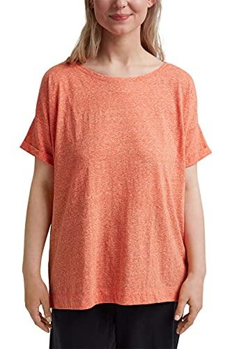Esprit 041EE1K386 Camiseta, 635/Orange Red, 52 para Mujer