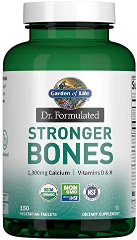 Garden of Life Dr Formulated Stronger Bones Organic Calcium Supplement with Vitamin D Vitamin product image