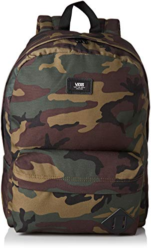 Vans Old Skool Ii Backpack Rucksack, 39 cm, 22 liters, Mehrfarbig (CLASSIC CAMO-BLACK)