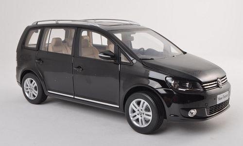 VW Touran TSI, schwarz , 2011, Modellauto, Fertigmodell, Paudi 1:18