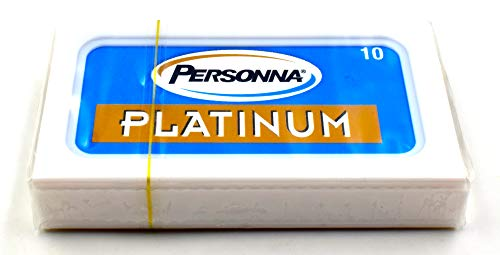 Personna Platinum Blades (10) 10 Blades by Personna