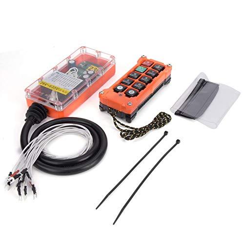 Interruptor de control remoto industrial del transmisor de la grúa del control remoto para la maquinaria minera para la maquinaria industrial (26-635V)