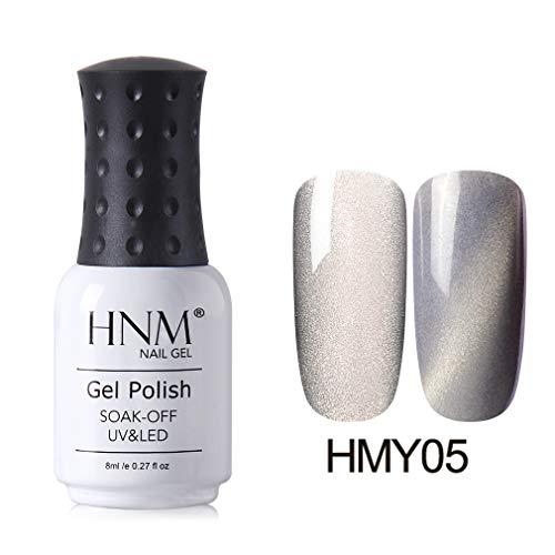 HNM Ligne Large Effet d'oeil de Chat Vernis à Ongles Magnétique 3D UV LED Imbibent Manucure 8ML HNM-HMY05