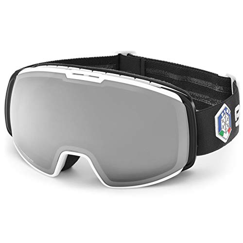 Briko Masque De Ski Nyira Free Fighter FISI Black White