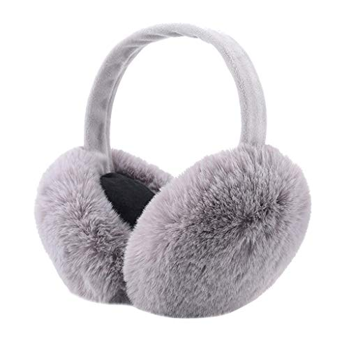 Celebrate Fathers Day Blessing Festival Winter Earmuffs Ear Warmers Faux Fur Foldable Plush Outdoor Gift