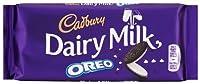 Cadbury Dairy Milk Oreo Chocolate Bar 120g (pack of 4)