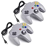 miadore 2X N64 USB Retro 64-Bit Controller Wired PC Gamepad Klassischen Joypad Joystick Für MAC...