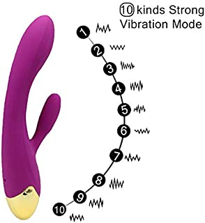Waterproof Wand Massager 10 Mode Vibration Mute Rechargeable Vibration Body Massage for Home Personal Fitness Sports