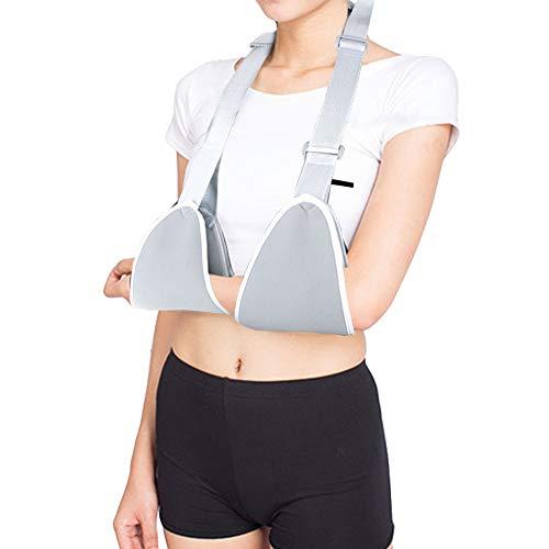 Arm Sling Medical Shoulder Immobilizer Adjustable Children Adult Arm Sling Shoulder Support Brace Strap for Arm with Soft Comfortable Padded