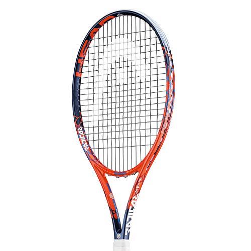 Head Graphene Touch Radical Lite MP Incordata: No 270G Racchette da Tennis Racchette da Torneo Arancione - Blu Scuro 1