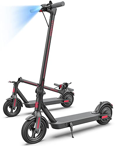 Electric Scooter Adults, Upgraded 500W Motor & Max Speed 19 MPH, 20Miles Long Range, Portable Folding Commuting Electric Scooters for Adults Gifts
