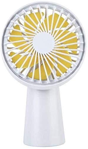 HLJ Mini Cute Fan Usb Handheld Grote Wind Mute Student kleine ventilator Silent Summer Portable kleine ventilator-1 (Color : 3)