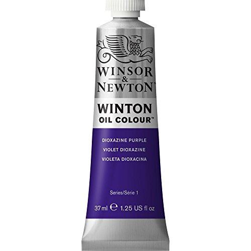 Winsor & Newton Winton Oil Color Paint, 37-ml Tube, Dioxazine Purple
