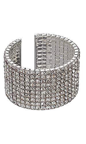 Vrouwen Zilveren Toren Brede Armband