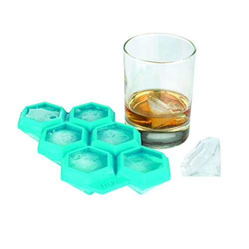 True Zoo Diamond Silicone Mold and Ice Cube Tray Candy, Soap, Toy,...