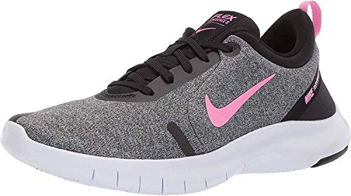 Nike Women's Flex Experience Run 8 Shoe, Pure Platinum/Psychic Pink/Black, 10 Regular US