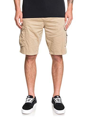 Quiksilver Crucial Battle Walk Shorts, Hombre, Verde (Plage), L (Talla de...