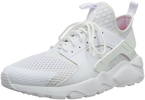 Nike Herren Air Huarache Run Ultra BR Fitnessschuhe, Weiß (White/White), 44.5 EU