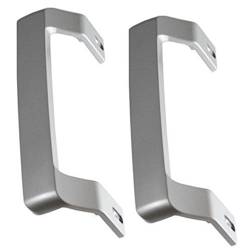 Spares2go - Maniglia per porta Beko per frigorifero congelatore (confezione da 2 maniglie)